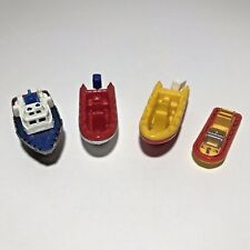 Matchbox Toy Boat Raft Ship Lot Ice Breaker White Water Raft Hasbro Skiff Raft