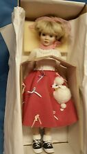 """Vintage Porcelain Doll """"TAMMY"""" New England Collectors Society June Amos Grammer"""