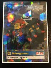 Dokugumon Digimon Card Animated Series II Super Rare