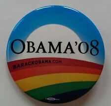 Official Obama LGBT Rainbow Campaign Pin / Button