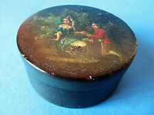 Fine Antique Early 19th Century French Vernis Martin Snuff Box