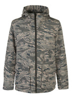 Criminal Synthetic Hunt Field Jacket Camo Men's UK Size Extra Large *REF3*