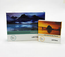 Lee Filters Foundation Holder Kit + 77mm Wide Adapter Ring. Brand New