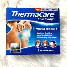Thermacare Muscle Therapy TargetTemp Insulation Reusable Cold Wrap 1 Ct