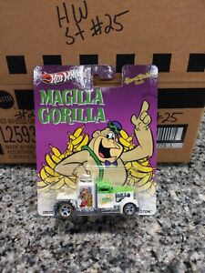 Hot Wheels 2013 Hanna Barbera Magilla Gorilla Real Rider Convoy Custom X8365