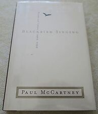 BLACKBIRD SINGING by Paul McCartney - HCDJ 1st American edition