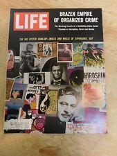 life magazine september 1 1967 poster wall art organized crime