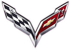 "Corvette Flag 2014 Small Decal 3"" x 2"""