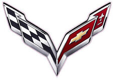 "Corvette Flag 2014 XX Large Decal 36"" x 24"""