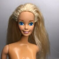 Vintage 1966 Malaysia Mattel Barbie Twist N Turn Blue Eyes