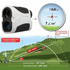 600Yards GOLF LASER RANGE FINDER W/FLAG-LOCK &VIBRATION 6X Magnification