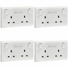 4 x Eaton P692 Premera Switch Socket Outlets 2 Gang 13 Amp with 2 x USB  sc 1 st  eBay : eaton wiring accessories - yogabreezes.com
