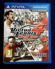 PLAYSTATION PS VITA GAME VIRTUA TENNIS 4 . FREE POSTAGE & PACKING!