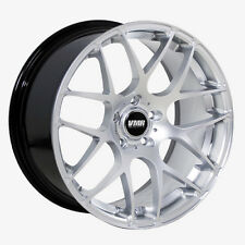 19x9.5 VMR Rims V710 CUSTOM ET45 Hyper Silver Wheels (Set of 4)