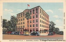 "MARIANA FL 1942 Hotel Chipola ""Old Florida"" Among the South's Finest VINTAGE GEM"