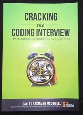 Cracking the Coding Interview, 6th Edition by Gayle LaakmannMcDowell [Paperback]
