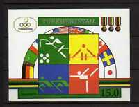 15735) Turkmenistan 1992 MNH New S/S Olympic Games