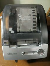 Brother QL-500 P Touch Thermal Label Printer W/ Power Cable