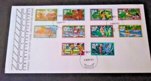 Niue 1976 Definitive issue on First Day Cover