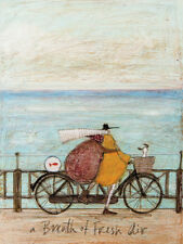 Sam Toft - A Breath of Fresh Air - 30 x 40cm Canvas Print Wall Art WDC12006