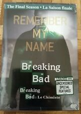 Breaking Bad: The Final Season 5th (DVD, 2013, Canadian; Bilingual)