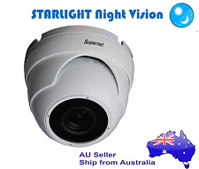 Supernet STARLIGHT Night Vision AHD 720P CCTV Security Camera Dome