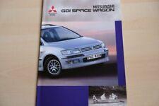 208559) Mitsubishi Space Wagon GDI Prospekt 02/1999