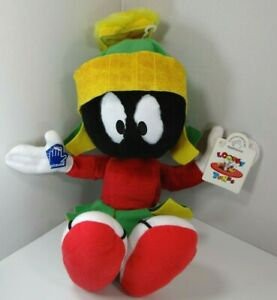 """Applause Vintage Looney Tunes Marvin The Matian Plush 14"""" NWT 1996"""