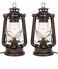 Oil Lantern Table lamp set By Muskoka Lifestyle Products-USA-Dimmable-Electric