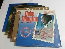 Lot Of 5 Big Band Swing LP Wholesale Duke Ellington Artie Shaw Vinyl Record