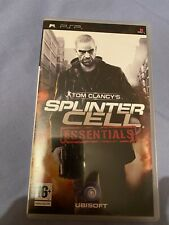 Tom Clancy's Splinter Cell Essentials-Sony PSP-Free UK POST.