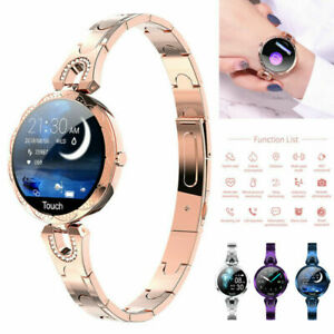 Women Smart Watch Heart Rate Blood Pressure Monitor Waterproof Female Bracelet