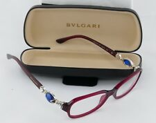 54ddc8ae50 Women s Bulgari Ornate Jewel Eyeglass Frame Crimson Magenta