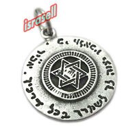 Priestly Protection Blessing and Star of David Pendant - Hand made in Israel