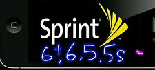 sprint  iphone Factory unlock service   5c 5s 6 6+ clean 80% rate