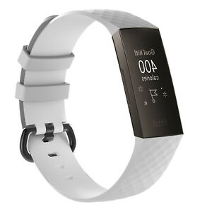 Replacement Classic Wristband for Fitbit Charge 3 Activity Tracker  SM LG