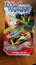 Transformers Prime RID Robots in Disguise Dead End Deluxe Class Decepticon
