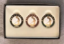 Official Pinehurst No. 2 Country Club ~ Boxed Set of 3 Golf Ball Markers