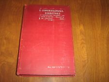 Congressional Directory 64th Congress 2d Session December 1916-HC w/Pull-Out Map