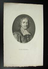 Valentin Esprit Fléchier Tardieu sc prédicateur évèque de Lavaur Nîmes c1800
