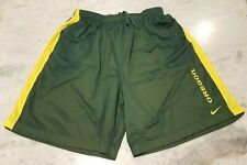 Oregon DUCKS Basketball  Nike Shorts DriFit Mesh  XX-Large Green/Yellow 2XL