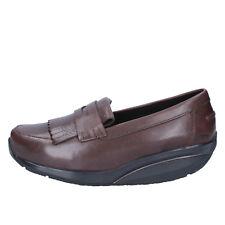 scarpe donna MBT 35 EU mocassini marrone pelle performance AB392-B