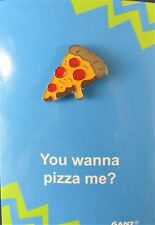PizzaPin It Enamel  Decorative Backpack Pin