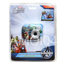 "Avengers Kids 2.1MP Digital Camera 1.5"" inch Preview Screen Create Movie New"