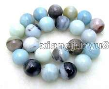 "SALE Big 18mm Round mixcolor Amazonite loose gemstone beads strand 15""-los332"