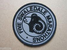 Five Swaledale Marathons Walking Hiking Cloth Patch Badge