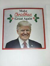 President Trump Christmas Talking Greeting Card Real Voice & Jingle Bells Music