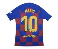 Barcelona 2019-20 Vaporknit Home Shirt Messi #10 (BNWT) S
