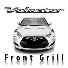 3D carbon fiber front grill pre-cut sticker fits Hyundai Veloster 2011-2018