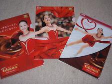 2014 ASADA MAO Olympic figure skating SOCHI Tokyo Japan Ghana promo gift file x3